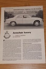 Rover 3 Litre Mk 3 Automatic Factory Repinted Road Test 1966