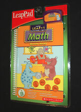 Leap Pad Learning System Math Monster Money SCHOLASTIC Book & Cartridge NEW