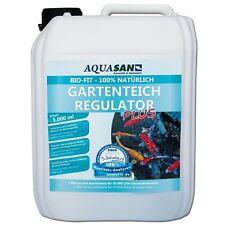 (8,00€/l) AQUASAN Bio-Fit Gartenteich Regulator 5000ml natürlich Mikroorganismen