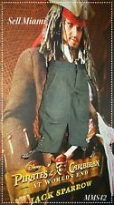 1/6 Hot Toys At World's End Captain Jack Sparrow MMS42 Gray Pants