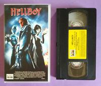 VHS Film Ita Fantascienza HELLBOY Marvel Ron Perlman Selma Blair no dvd cd(V131°