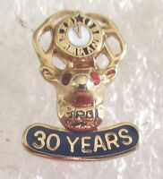 Very Nice Benevolent and Protective Order of Elks 30 Year Member Award Pin-BPOE