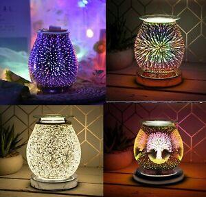 Desire Aroma Electric Wax Melt Burner 3D Lamp Night Light Tart Wax Warmer NEW