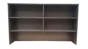 Office Desk Hutch workstation crendenza Hutch office storage cabinet shelves
