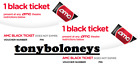 AMC Theaters: 2X Black Tickets W/ PIN - E-ticket Advanced Reservations -SAME DAY
