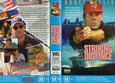 STRIKING DISTANCE - Willis -VHS - PAL -NEW - Never played! - Original Oz release
