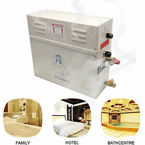 Steam Generator Shower Sauna Bath Home SPA Steam Bath Generator with Control AU