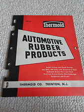 1955 Thermoid Automotive Rubber Product RD-55 PRISTINE Corvette Cadillac Mustang