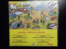 Pochettes de décalcomanies Tintin Willeb ETAT NEUF