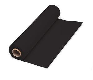 Dunicel Tischdeckenrolle schwarz 1,18m x 10m Gastroqualität, Vliestischtuch