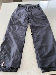 Men's Special Blend Ski Snowboard Pants Size Medium Black Snowboard Pants