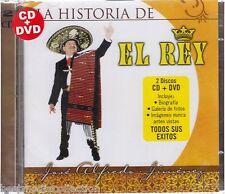 1 CD / 1 DVD Combo - Jose Alfredo Jimenez CD NEW La Historia Del Rey BRAND NEW