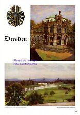 Regard sur Dresde XL page 1940 avec 2 Imprimer waldschlößchen Cage pavillon