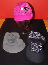 Hat Lot Rue 21 David & Young Hat Lot of 3 One Size Baseball, Newsboy, Cabbie