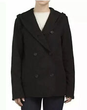 New James Perse Double Breasted Hoodie Coat Size 1 MSRP $425