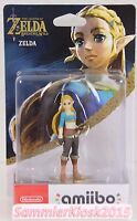Zelda Amiibo Figur - Breath of the Wild / Legend of Zelda Neu OVP Nintendo C2