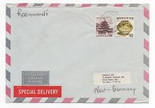 1986 KOREA Air Mail Cover BUSAN To FÜRTH GERMANY