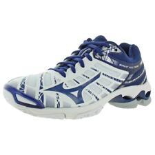 Mizuno Womens Wave Voltage White Volleyball Shoes 7 Medium (B,M) BHFO 8807