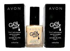 Avon Gel Finish 7-in-1 Nail Enamel ~Creme Brulee~ New in Box (Lot of 2)