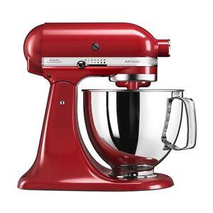 Refurbished KitchenAid 5KSM125BER 4.8L Artisan Stand Mixer - Red