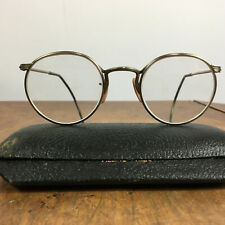Vintage American Optical Hook Safety Glasses Goggles Steampunk 30s 40s WWII AO
