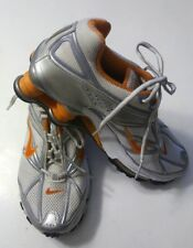 Nike Shox 312959-181 VTG Women's Running Shoes Sneakers Gray Orange Size 7