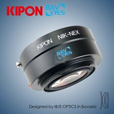New Kipon BAVEYES adapter for Nikon F mount lens to Sony NEX camera α6300