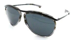 Ray-Ban Sunglasses RB 2219 1286/R5 59-13-140 Aviator Olympian Grey Havana / Blue