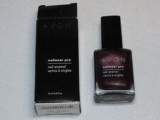 Avon Nail Wear Pro Enamel Night Violet 12 ml 0.4 fl oz nail polish mani pedi;;
