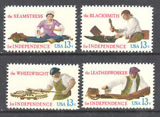 SC#1717 - 1720 - 13c Skilled Hands Set of 4 MNH