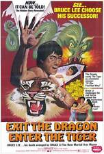 EXIT THE DRAGON ENTER THE TIGER Movie POSTER 27x40 Bruce Li Yi Chang Ma Chi
