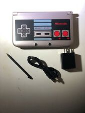 Nintendo 3DS XL Retro NES Edition Silver System w/Charger FREE Shipping!