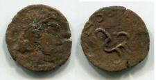 (17320)Chach, Unknown ruler 3-5 Ct AD to Right, big size! Unpublished