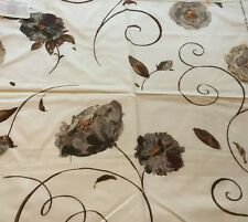NINA CAMPBELL for OSBORNE & LITTLE Dancing Rose 28x26 Cotton Fabric Remnant New