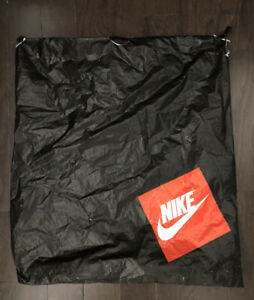 Cool! Very Rare Vintage NIKE Large Shopping Bag Air Force 1 Shopping Bag