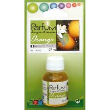 Flacon 27ml parfum liquide pour bougie et savon - Orange