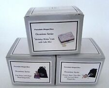 PHB Midwest of Cannon Falls Hinged Boxes  - Special Occasion Set of 3