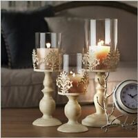 Candle Holders Candlestick Metal Crafts Elegant Table Centerpiece Decoration New