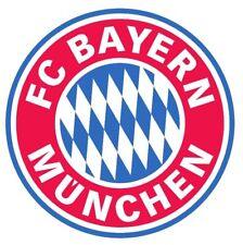 GROSSER FC BAYERN MÜNCHEN AUFKLEBER AUTOAUFKLEBER STICKER AUTO ROT BLAU WEISS !!