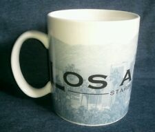 Starbucks Los Angeles coffee cup mug Skyline series City of Angels 18oz 2005