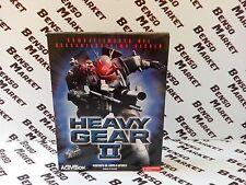 HEAVY GEAR II 2 - PC - BIG BOX EDIZIONE CARTONATA ITALIANA - COMPLETO COME NUOVO