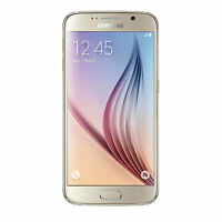"New Samsung Galaxy S6 Mobile Phone 5.1"" 32GB 16MP Gold Unlocked Sim Free"
