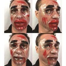 Adulto maschera di rimozione del Male Smile Sorriso Assassino Halloween Costume Accessorio