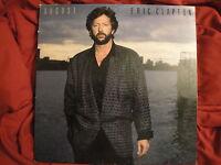 ERIC CLAPTON AUGUST VINYL LP 1986 DUCK RECORDS R-144 EX