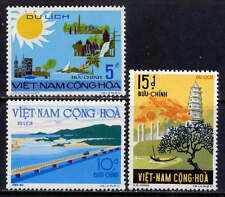 VIETNAM, SOUTH Sc#487-9 1974 Tourist Attractions MNH