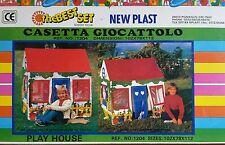 Casetta New Plast The Best Set Play House Plastica Tenda Campeggio Gioco Bambini