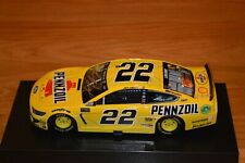 Joey Logano Signed Nascar #22 Pennzoil Premium 2019 Mustang 1:24 w/ Pristine COA