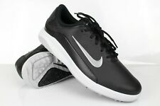 Nike Men's Vapor Spikeless Golf Shoes Water Resistant Black Leather AQ2302 001