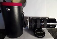 Tamron Zoom 1:3.5 f=70-150mm BBAR MultiC Camera Lens for Konica w/ Case and Caps