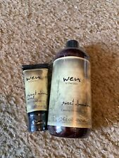 WEN SWEET ALMOND MINT CLEANSING CONDITIONER 16OZ & ANTI-FRIZZ STYLING CREAM 2 OZ